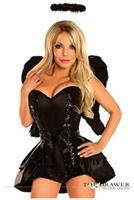 4 PC Dark Angel Costume