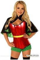 Top Drawer Superhero Sidekick Corset Costume