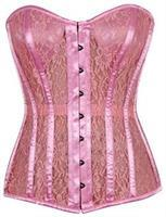 Top Drawer Pink Lace Molded Cup Corset
