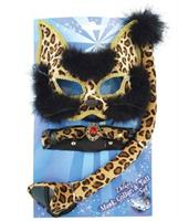 Deluxe Leopard Mask Set