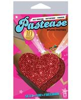 Pastease Red Glitter Heart