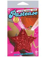 Pastease Red Glitter Star