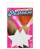 Pastease, silver glitter star
