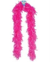 Lightweight feather boa - pink with lurex
