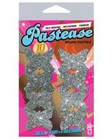 Pastease Petites Silver Glitter Butterfly