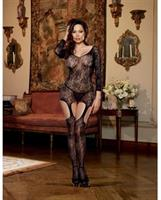 Stretch Lace Garter Dress