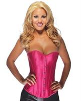 Sweetheart Corset With Front Steel Busks Closure