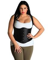 Halter Underbust Corset With Steel Busks Front Closure