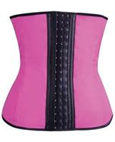 Gym Work Out Waist Trainers Hot Pink