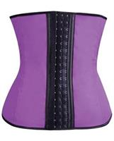 Gym Work Out Waist Trainers Purple