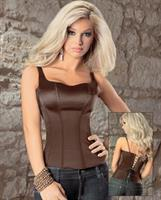 Smooth and Comfy Adjustable Strap Zip Side Corset