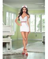 Nurse Hott White/Red