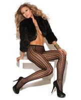 Vivace Pantyhose with Feather Design