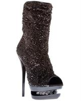 Highest Heel Diamond 5 1/2 inches Ankle Boot