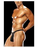 Male power men's bong thong black
