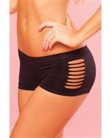 Pure Performance Side Slash Hot Black Short
