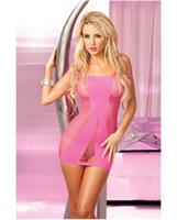 Pink Lipstick Seamless Hot Dress