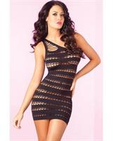 One Shoulder Seamless Mini Dress