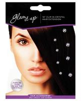 Glam It Up Crystal Hair Extension