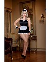 4pc Maid Me Dirty Apron and Panty Set
