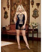 Seamless halter Dress with G-String