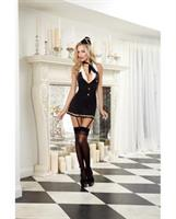 4 pc Halter Garter Dress