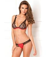Spellbound Lace Bra and Thong Set
