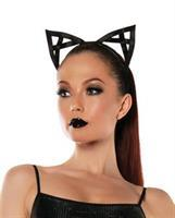 Roleplay Bondage Kitty Ears Black