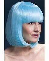Smiffy The Fever Wig Collection Elise - Neon Aqua