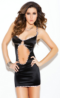 Stretch satin chemise