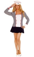 2pc. Sailor Adult Costume