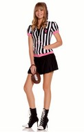 5 pc Sideline Sweetheart Costume