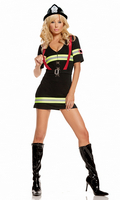 2 pc Ms. Blazin' Hot Costume