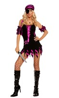 4 pc Shipwrecked Wench Costume