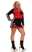2 pc High Speed Hottie Costume