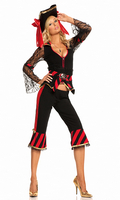 5 pc Treasure Hunter Temptress Costume