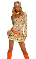 3 pc Groovy Chick Costume