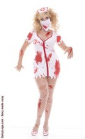 4 pc. Bloodbath Betty Plus Costume