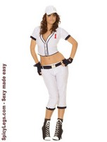 5 pc Homerun Hottie Costume
