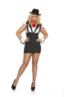 Machine Gun Greta Plus Size Costume