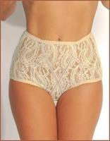 Rayon and Nylon Blend Highwaisted Panties