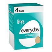 L'eggs Everyday Regular ST 4 Pair