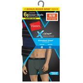 Hanes Men's Red Label X-Temp Fashion Boxer Brief Bonus Pk P5 + 1 Free