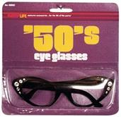50's Cat's Eye Glasses Costume Accessory