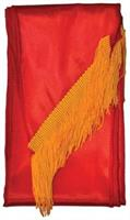 Sash Fringed Red