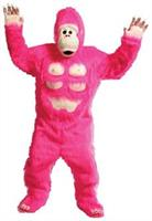 Comic Pink Gorilla With Chest As Pictured Costume Costume