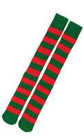 Socks Christmas Red And Green