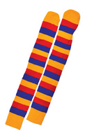 Socks Clown Yellow Red Blue