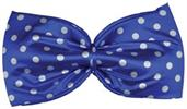 Polka dot Blue Jumbo Bow Tie