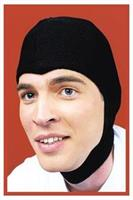 Black Stretch Hood Costume Accessory